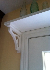 shelf over window