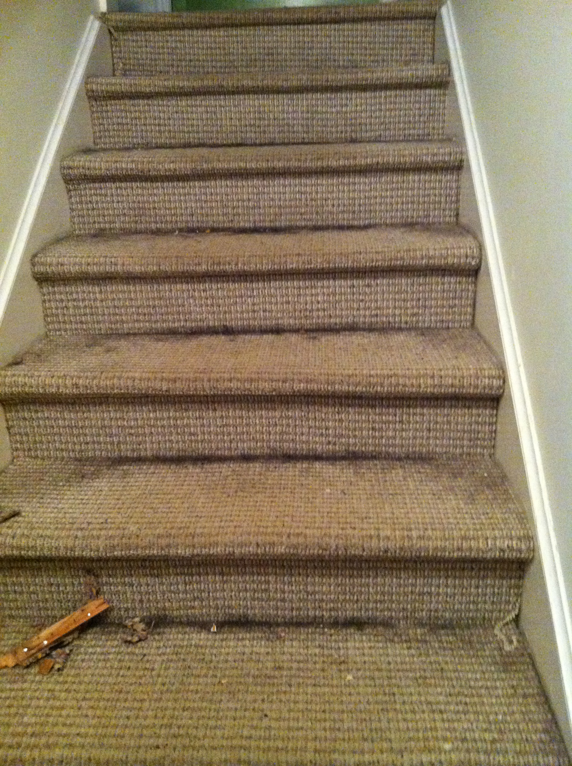 diy carpet stairs to wood Small but valuable